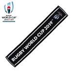 ラグビーワールドカップ2019™日本大会ジャガードタオルマフラーブラック