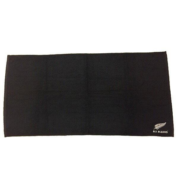 【ALL BLACKS】 オールブラックス エンブレム 刺繍 バスタオル ラグビー ニュージーランド代表 オフィシャルグッズ AB31930