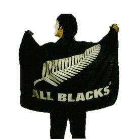 【ALL BLACKS】 オールブラックス ビッグフラッグ フラッグ 応援グッズ ラグビー ニュージーランド代表 オフィシャルグッズ
