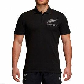 【adidas】 アディダス ALL BLACKS オールブラックス サポーター ポロシャツ 2018/19 ラグビー EKW35