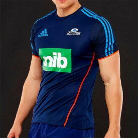 【adidas】 アディダス ブルーズ パフォーマンス Tシャツ 2019 ENI93 スーパーラグビー 【BLUES】