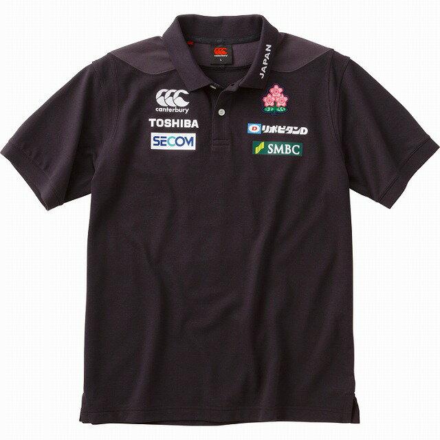 【CANTERBURY】 カンタベリー ラグビー 日本代表 ジャパン S/S メディア ポロシャツ 2018 半袖 R38019JP