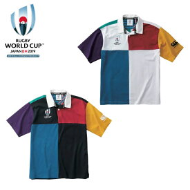カンタベリー「ラグビーワールドカップ2019™日本大会」オフィシャルライセンス商品 S/S HARLEQUIN JERSEY ラグビージャージ VWD39114