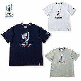 カンタベリー「ラグビーワールドカップ2019™日本大会」オフィシャルライセンス商品 イベント ロゴ Tシャツ VWD39400