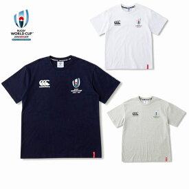 カンタベリー「ラグビーワールドカップ2019™日本大会」オフィシャルライセンス商品 イベント ロゴ Tシャツ VWD39403