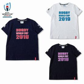 カンタベリー「ラグビーワールドカップ2019™日本大会」オフィシャルライセンス商品 イベント ロゴ ウィメンズ Tシャツ VWD39407W 女性用