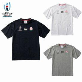 カンタベリー「ラグビーワールドカップ2019™日本大会」オフィシャルライセンス商品 イベント ロゴ Tシャツ VWT39409