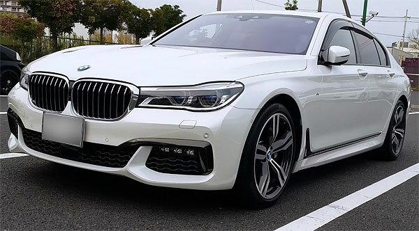 27年式BMW740iMスポーツ 店頭では買えない安さ!オークション会場で買える!