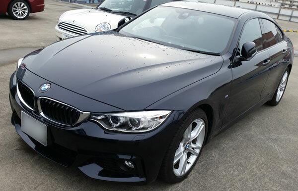 BMW420iグランクーペMスポーツ 業者価格でオークション会場で買える!