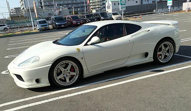 フェラーリ360モデナF1 オークション代行カービズで高く売れる
