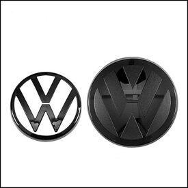 【送料無料】VW フォルクスワーゲン Volkswagen フロント リア エンブレム 被せるタイプ エンブレムカバー カーエンブレム専門店