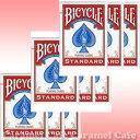 【当店ポイント5倍】【送料無料】BICYCLE(バイスクル) 808 ライダーバック STANDARD トランプ ポーカーサイズ 赤 12デック1ダースシュ…