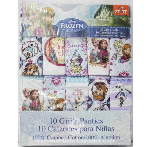 あす楽【Disneyアナと雪の女王】女の子女子子供用 子供用下着パンツサイズ2歳3歳4歳6歳8歳サイズ90cm〜130cm10枚セットディズニーアナ雪