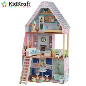 あす楽【キッドクラフト】マチルダドールハウス KidKraft Matilda Dollhouse #65983/236883階建て 12インチドール おもちゃ おままごとあす楽 送料無料【costco コストコ】