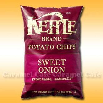 The SALT &VINEGAR Kettle potato chips ★ Sweet Onion 794 g 02P13Nov14