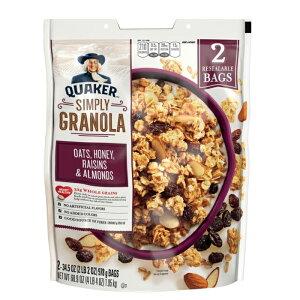 【Quakerクウェーカー】NaturalGRANOLAナチュラルグラノーラシリアル 978g×2袋【輸入食材 輸入食品】