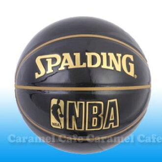 牙釉质球下玻璃黑色自由式友好 Spalding 篮球 UNDERGLASS 号