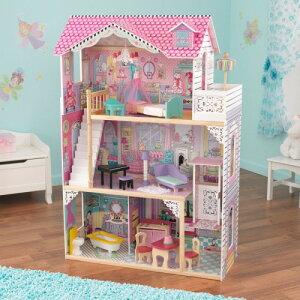 送料無料 KidKraft Annabelle Doll House キッドクラフト アナベルドールハウス エレベーター 階段 正規品 おままごと 木製 おもちゃ
