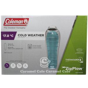 予約商品 送料無料【Coleman コールマン】シルバートン 大人用寝袋 マミー型 −17.8度 コールドウェザー マミースリーピングバッグ