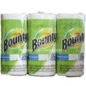 【Bounty】バウンティーペーパータオルメガロールMEGARoll3ロールキッチンペーパーペーパータオル279×152mm123シート