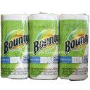 あす楽【Bounty】バウンティーペーパータオル メガロール MEGA Roll3ロール キッチンペーパー ペーパータオル279×152mm 105シート05P...