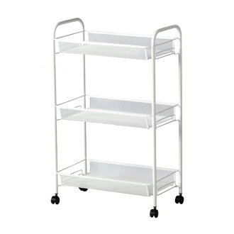 IKEA IKEA HORNAVAN three steps rack assembling-type caster wagon kitchen kitchen wagon caster washroom assistance wagon storing wagon 05P04Jul15