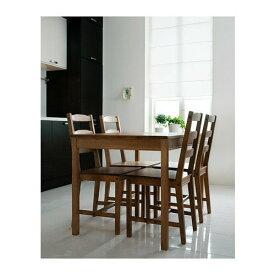 【当店ポイント5倍】【IKEAイケア】JOKKMOKK テーブル&チェア4脚 アンティークステインダイニングテーブルリビングにヨックモック食卓木製 【ラッキーシール対応】