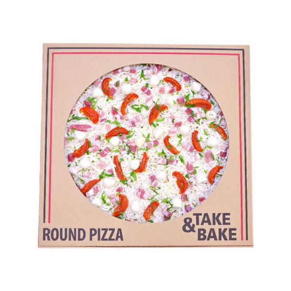 【コストコCostco】新商品丸型ピザ パンチェッタ&モッツァレラSQUARE PIZZA 【ラッキーシール対応】