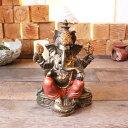象の神様 ガネーシャ 開運の神様 置物 オブジェ ゴールド H25cm バリ雑貨 ヒンドゥー教 神様 オブジェ