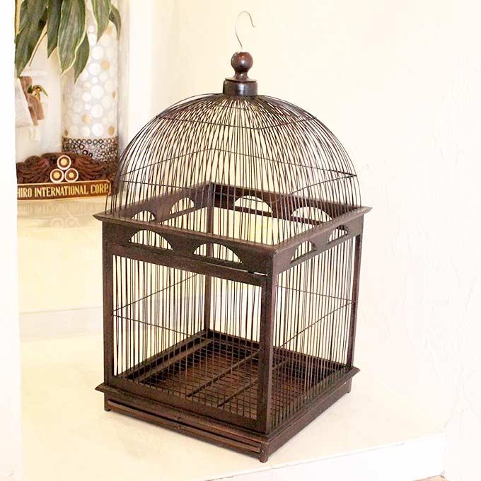 バリ島の鳥かご ディスプレイ用 H85cm