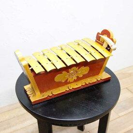 バリ島 ガムラン ドレミ音階 鉄筋 民族楽器