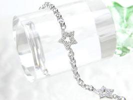 K18WGダイヤモンド0.50ctブレスレット(9080)