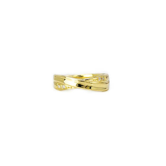 【ご予約納期5〜7週間程】K18ダイヤモンドリングEternal Silk(rd0007k)