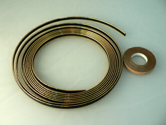 Motorcycle Mall 7 mm width gold (4 m roll)