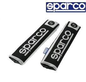 ショルダーパット Classic sparco ブラック black スパルコ SPC正規パーツ シートベルト 2個セット 運転席 助手席 レーサー気分 イタリア opc12120001