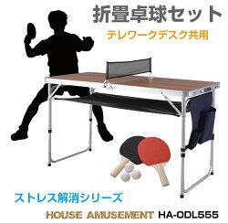 子供室内遊びおもちゃ卓球台家庭用テーブル卓球セットピンポンラケットボールアウトドアテーブルテレワークデスク在宅コンパクト折畳卓球セット