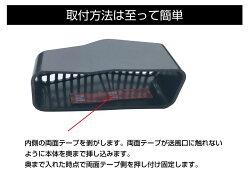 ホンダ車用アクセサリー内装パーツエアコンヒーター暖房クーラー後部座席ホコリゴミ巻き上げ防止送風口侵入防止フィルタールーバー簡単取付けタイプ1リアヒーター用ルーバー2個セットGT-H01RH