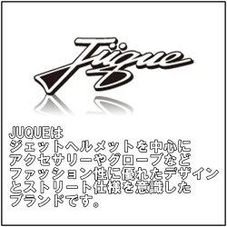 ジュクー・ジェットヘルメット・チェッカーMサイズ・ブラック地/GOLD