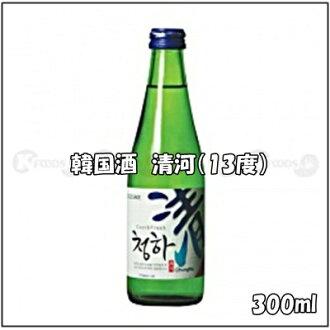 Korea sake, qinghe (ABV 13%) content volume 300 ml