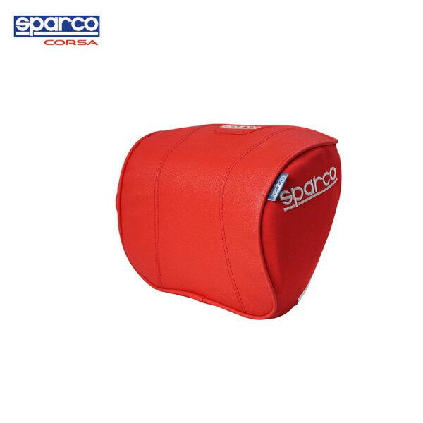 新発売 新作 低反発ピローパット SPC4008 ブラック/ブルー/レッド SPARCO CORSA正規パーツ スポーティ ロングドライブ 疲れ軽減 首 低反発 ネックピロー 新商品 NEW