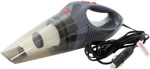 車 掃除機 強力 ハイパワーカークリーナ 12V LEDライト付 ノズル3種類 フィルター1個 収納バッグ付 連続使用約10分 大自工業 FC30