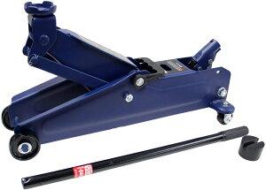 2.25t 油圧 フロアジャッキ ミドルリフト 最高値 410mm 最低値 133mm 1年保証 ジャッキタッチメント付 大自工業 FA23