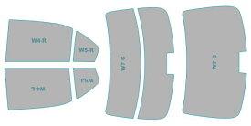 カーフィルム カット済み ウインコス 断熱スモーク トヨタ カローラ アクシオ 【NRE161型/NZE161型/NZE164型】 年式 H29.10- 車検対応 業務用 スモークフィルム ウインドウ フィルム