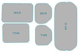 カーフィルム カット済み 断熱スモーク ホンダ N-VAN 年式 H30.7- 車用品 バイク用品 車用品 アクセサリー 日除け用品 カーフィルム