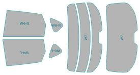 カーフィルム カット済み ウインコス 断熱スモーク マツダ CX-5 【KF2P型/KF5P型】 年式 H29.2- 車検対応 業務用 スモークフィルム ウインドウ フィルム