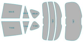 カーフィルム カット済み 断熱スモーク マツダ CX-5 【KE5FW型/KE5AW型/KE2FW型/KE2AW型】 年式 H27.1-H29.1 車用品 バイク用品 車用品 アクセサリー 日除け用品 カーフィルム
