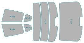 カーフィルム カット済み 断熱スモーク マツダ アクセラ ハイブリッド 【BYEFP型】 年式 H25.11-H28.6 車用品 バイク用品 車用品 アクセサリー 日除け用品 カーフィルム