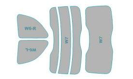 カーフィルム カット済み シルフィード 断熱スモーク フィアット Abarth 595 【31214T型】 年式 H29.2- 車検対応 業務用 スモークフィルム ウインドウ フィルム