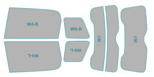 カーフィルム カット済み UVカット 紫外線 99%カット ミニ Crossover 【R60型(XDJCW)】 年式 H23.1-H26.8 車検対応 業務用 スモークフィルム ウインドウ フィルム