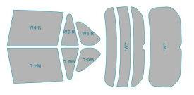 カーフィルム カット済み シルフィード 断熱スモーク トヨタ RAV4 ハイブリッド 【AXAH54型】 年式 H31.4- 車検対応 業務用 スモークフィルム ウインドウ フィルム